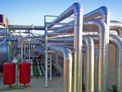 Industrieanlagen mit Rohrleitungsbeu, Kunststoffschweissen und Flachdachentwässerung