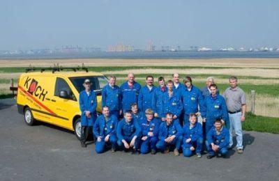 Ein Teil unseres Teams – Peter Koch GmbH